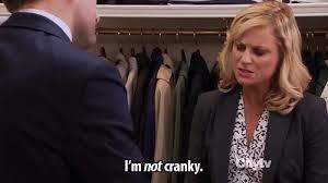 not cranky